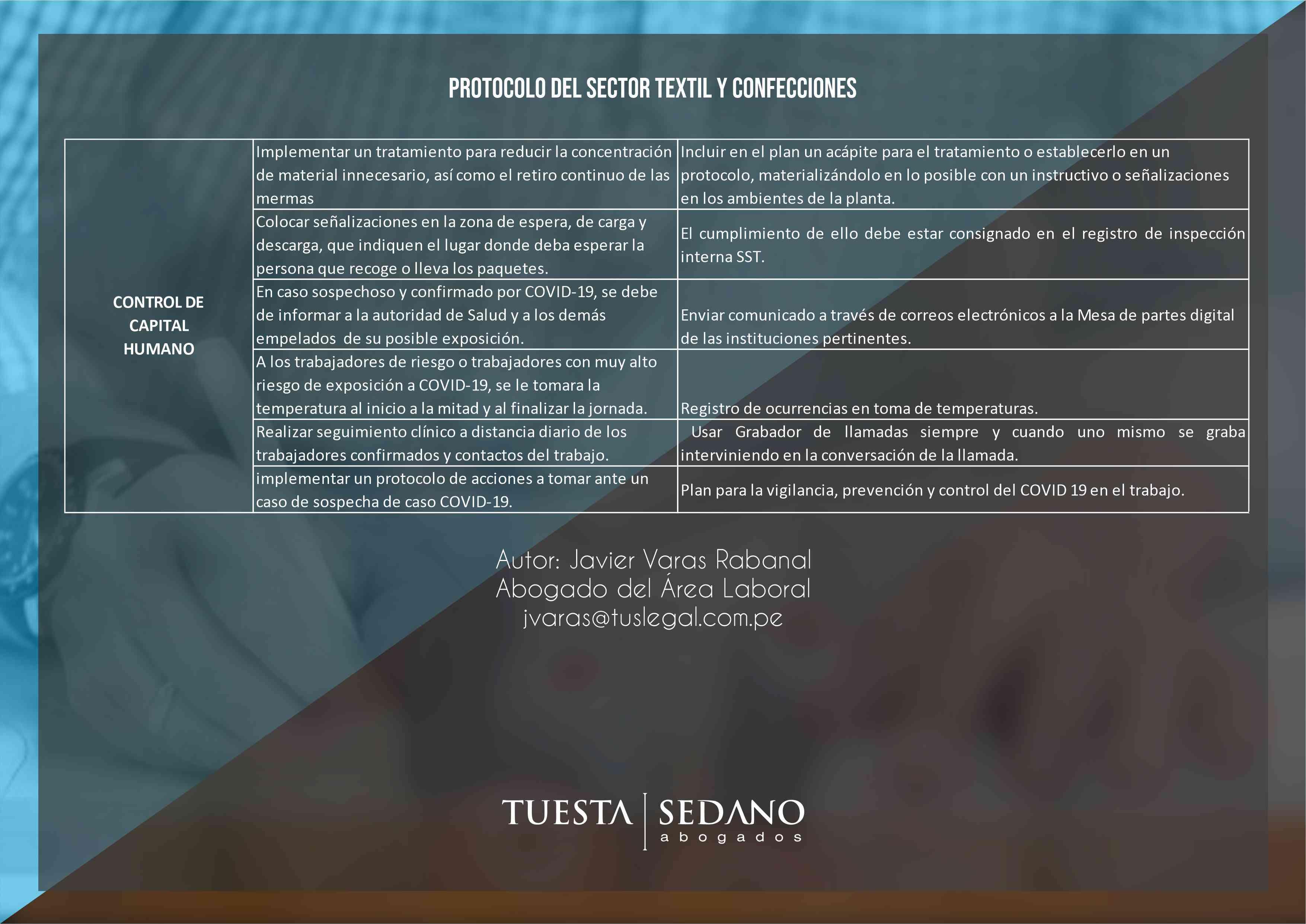6-PROTOCOLO DEL SECTOR TEXTIL Y CONFECCIONES