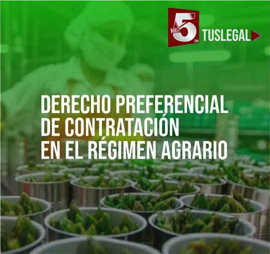 Derecho de contratación en el régimen agrario